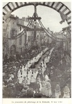 Procession pèlerinage Pentecôte 22 mai 1893
